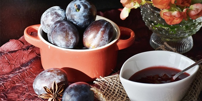 Turkish Homemade Plum Marmalade Recipe