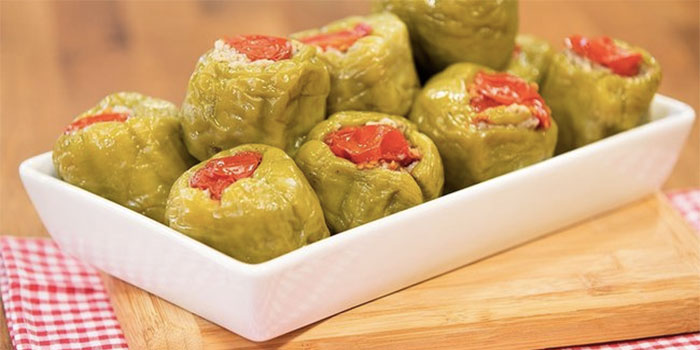 Turkish Vegetarian Stuffed Peppers